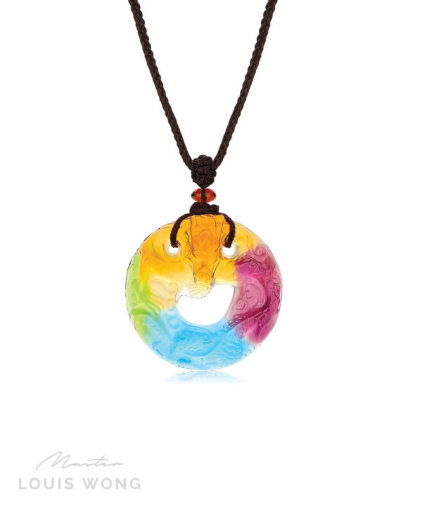 The Fortune Dragon Liuli™ Feng Shui Necklace