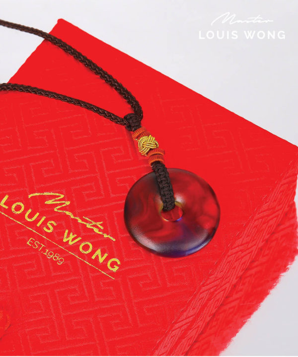 Fortune Circle Liuli™ Feng Shui Necklace