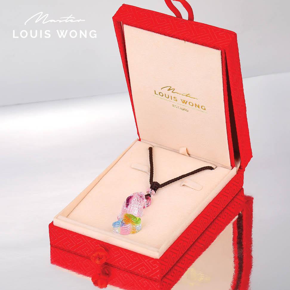 Hooked Fish Liuli™ Feng Shui Necklace
