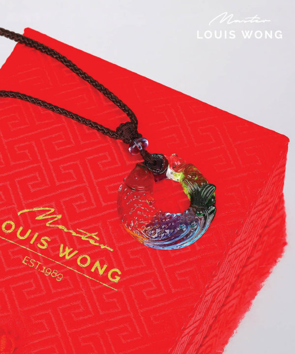 The Pleasant Fish Liuli™ Feng Shui Necklace