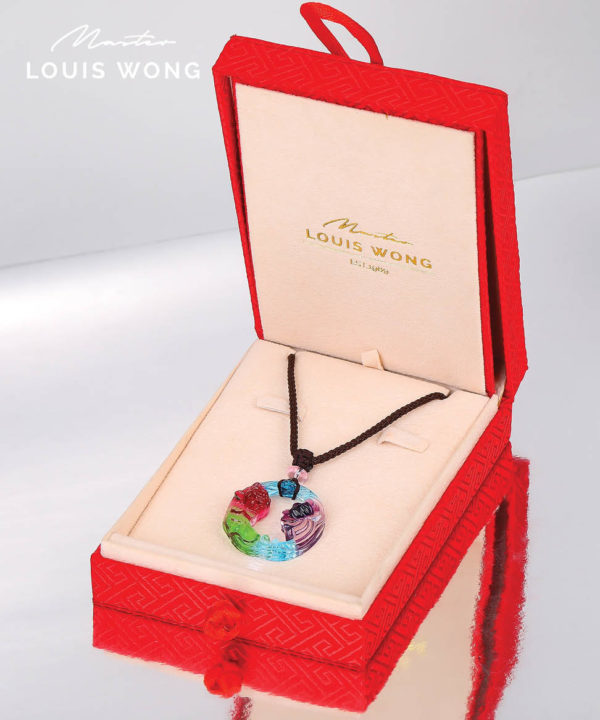 The Peace of Lotus Liuli™ Feng Shui Necklace