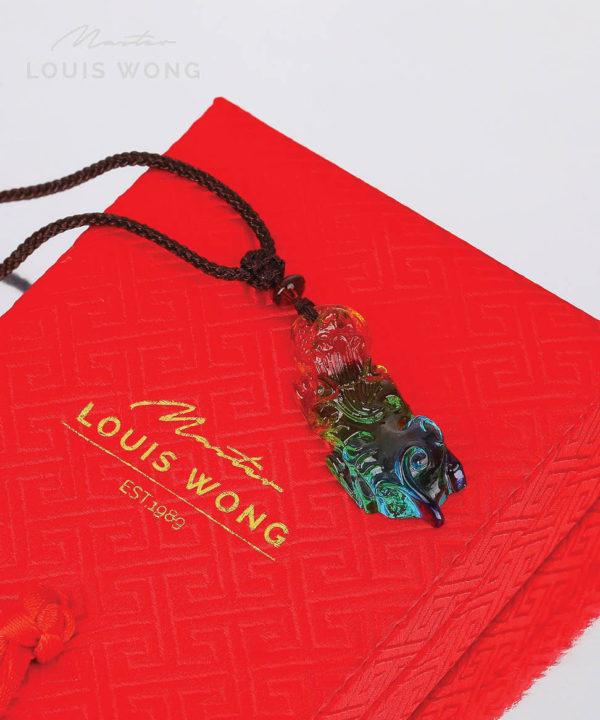 Pixiu of Wealth Liuli™ Feng Shui Necklace