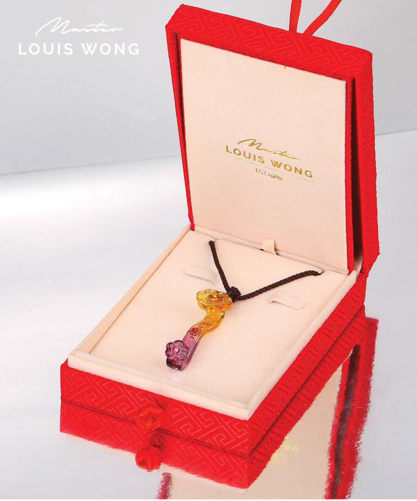The Wishful Ruyi Liuli™ Feng Shui Necklace