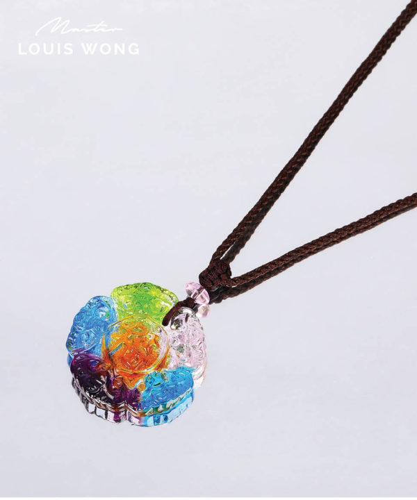 The Five Blessings Liuli™ Feng Shui Necklace