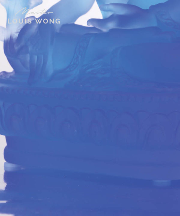 The Health Optimizer (Apothecary Buddha) Liuli™ Feng Shui Art Piece