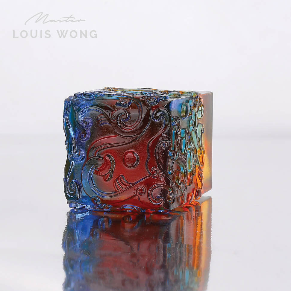 The Earth Dragon Liuli™ Feng Shui Art Piece