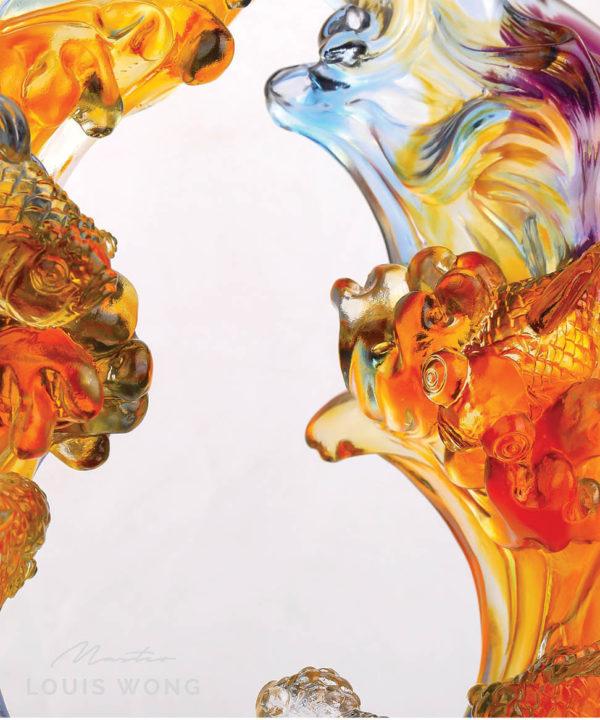 The Golden Six Liuli™ Feng Shui Master Art Piece