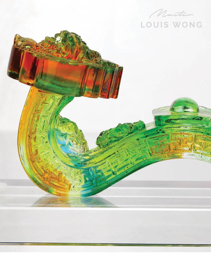 The Fiery Heart Liuli™ Feng Shui Art Piece