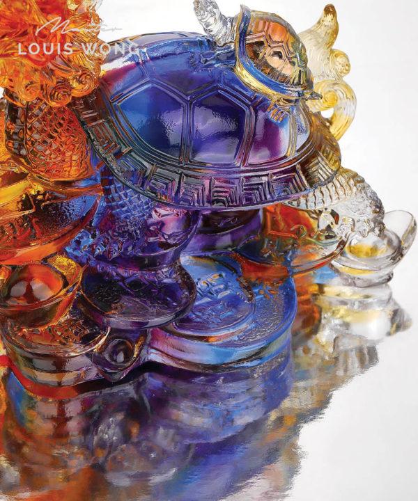 Dragon Terrapin Liuli™ Feng Shui Art Piece