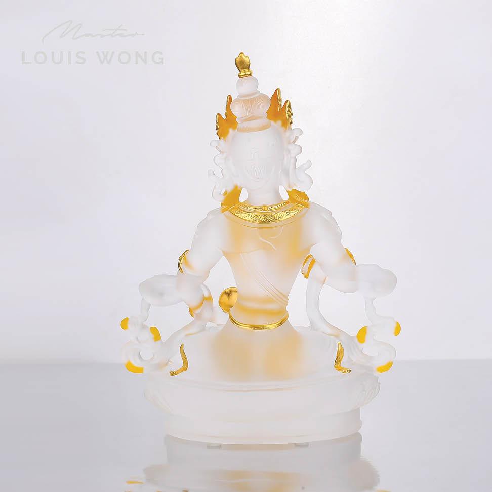 The Grand Purifier  (Vajrasattva) Liuli™ Feng Shui Art Piece
